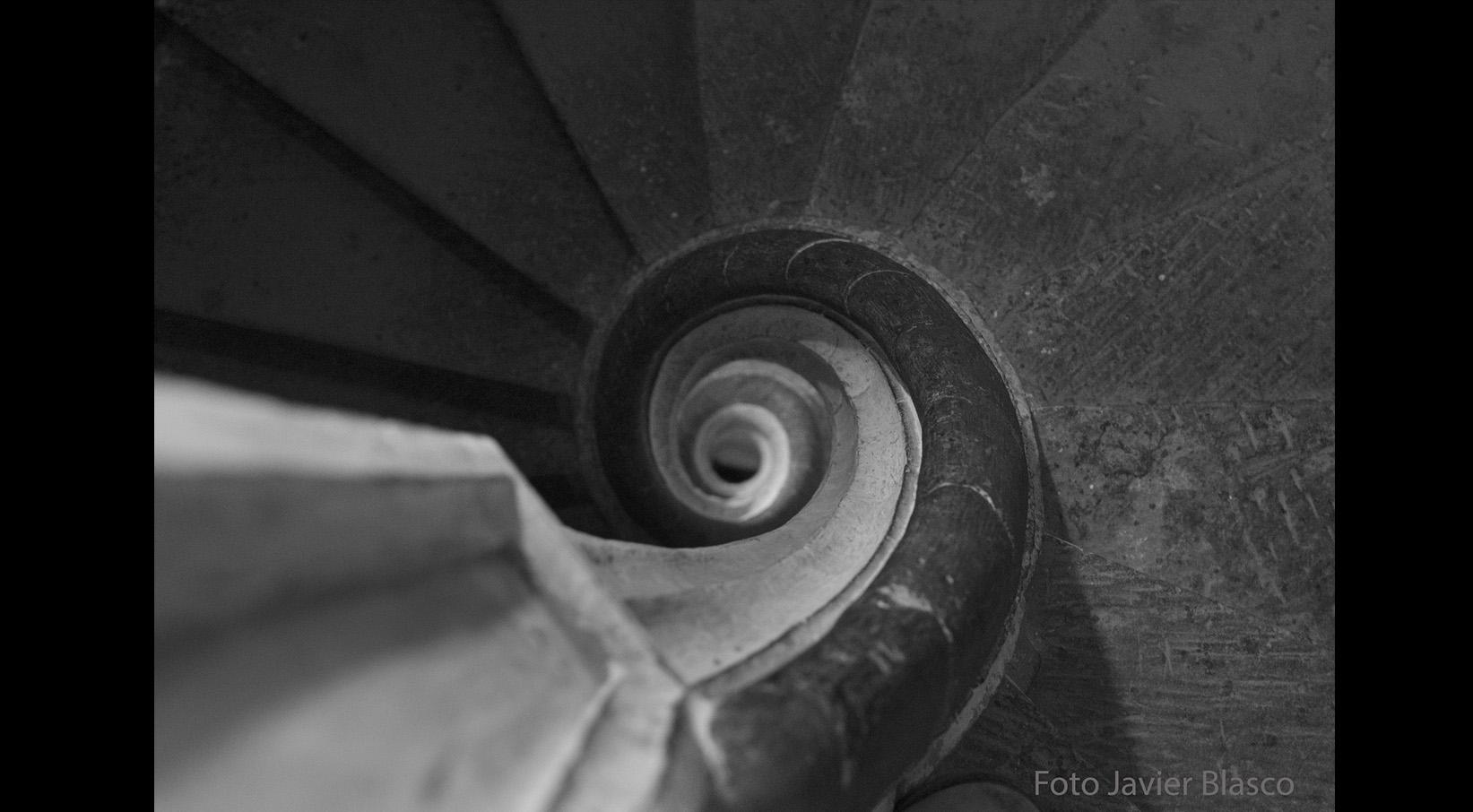 Escaleras de la Catedral de Huesca